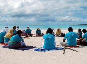 Global Meditation on Climate Correction
