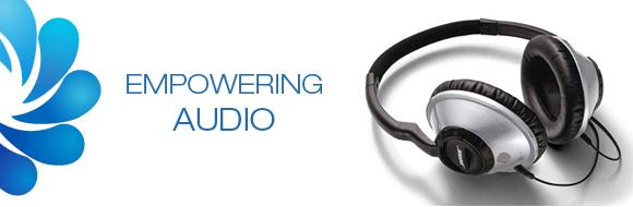 Headphones, ELF Logo, Empowering Tools