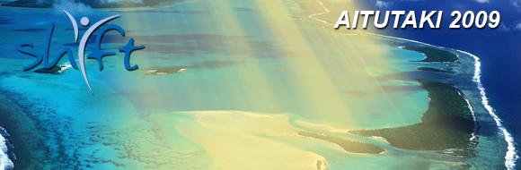 Aerial View of Aitutaki