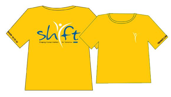SHIFT GRAND CANYON T-SHIRT DESIGN - yellow