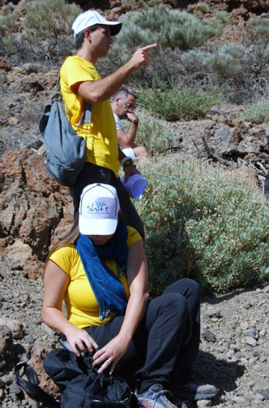S.H.I.F.T 10.10.10 Group in Teide, Tenerife